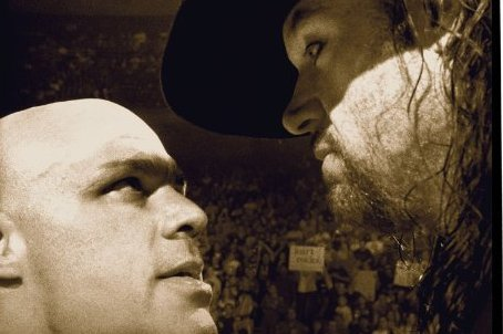 WWE Classic of the Week: The Undertaker vs. Kurt Angle from No Way ...