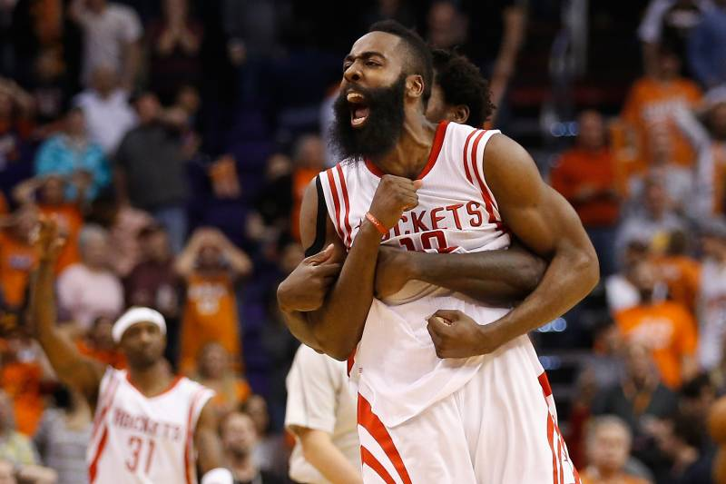 9526ae1bbb29 Dwight Howard Injury Gives James Harden Chance to Swing NBA MVP Race ...