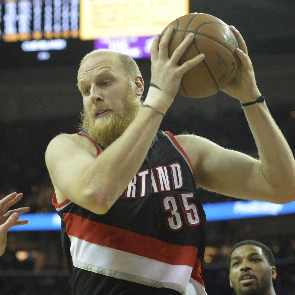 Portland Trail Blazers Injury News: Chris Kaman Injury: Updates On Trail Blazers Center's Back