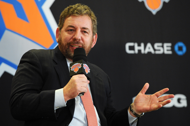Knicks Owner James Dolan Responds to Email from Upset Fan