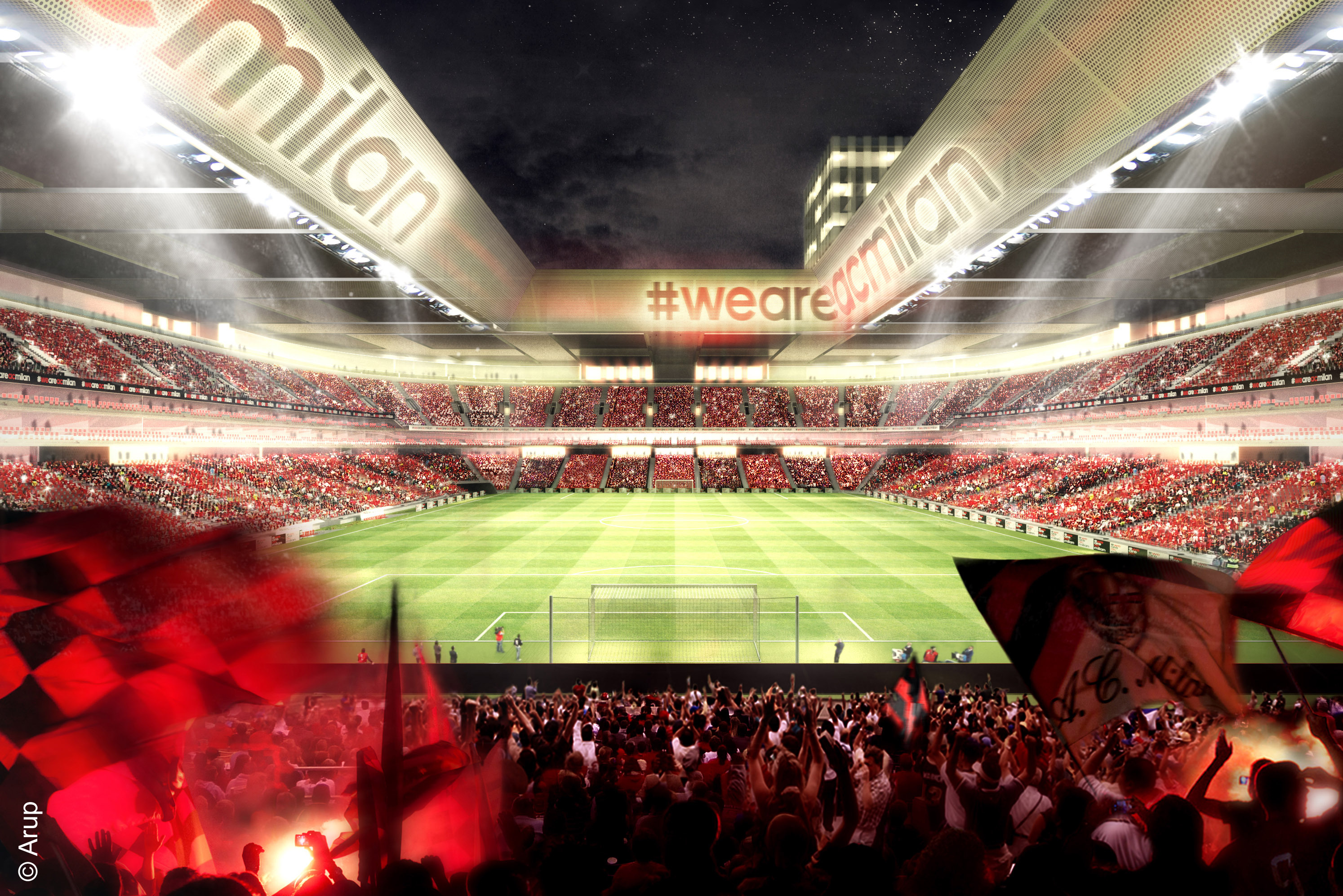 Why Ac Milan S New Stadium Will Propel The Rossoneri Back To The Top In Europe Bleacher Report Latest News Videos And Highlights