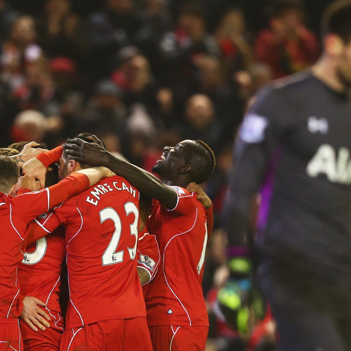 Tottenham 3 Fulham 1 Match Highlights Harry Kane Scores: Best Twitter Reaction To Liverpool Vs. Tottenham Hotspur