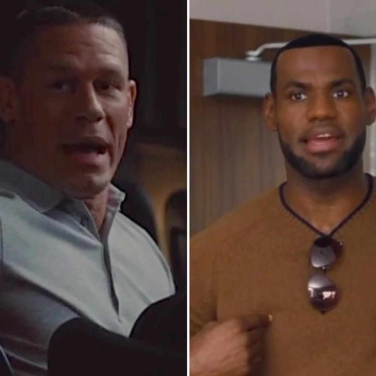 LeBron James And John Cena Appear In Trailer For 2015