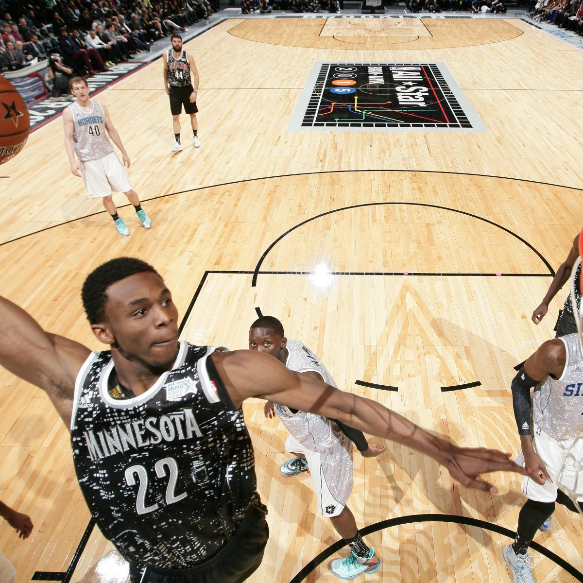 Andrew Wiggins Named MVP for 2015 USA vs. World Rising Stars Challenge  2d25bda44