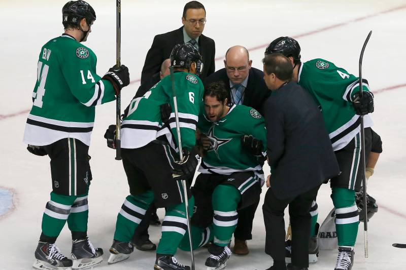 Patrick Eaves Injury Updates On Stars Forward S Concussion And