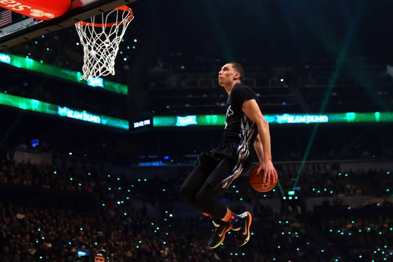 Nba Slam Dunk Contest 2015 Results Twitter Reacts To Winner And
