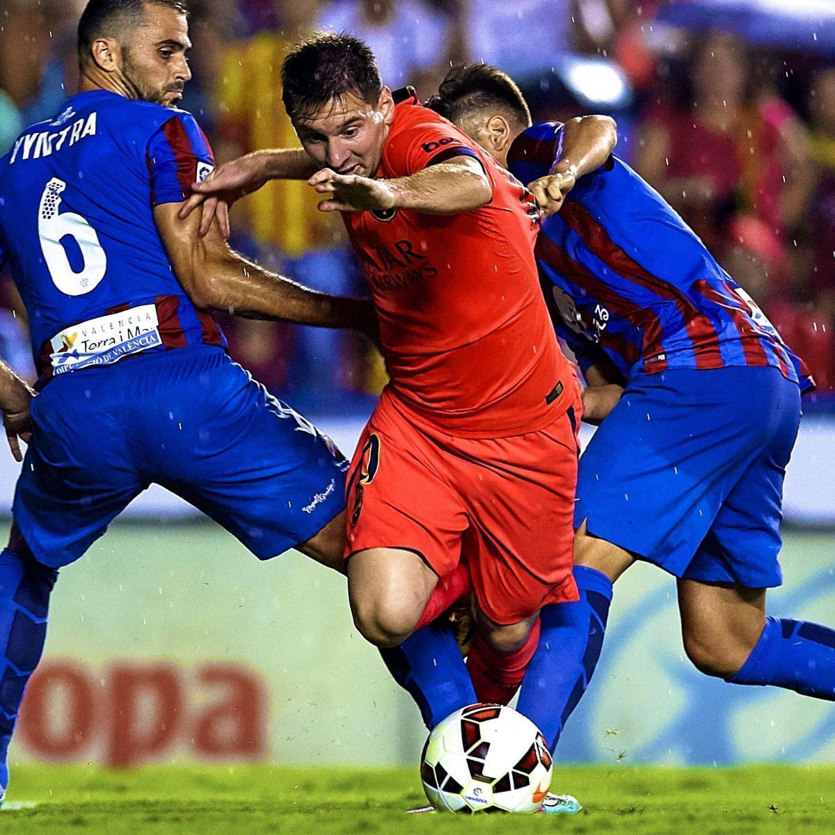 Arsenal Vs Barcelona Live Score Highlights From: Barcelona Vs. Levante: Live Score, Highlights For La Liga