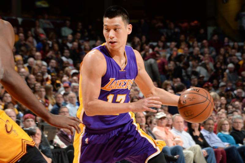 8a0f6f1a2889 Jeremy Lin Playing His Way Out of Los Angeles Lakers  Future ...