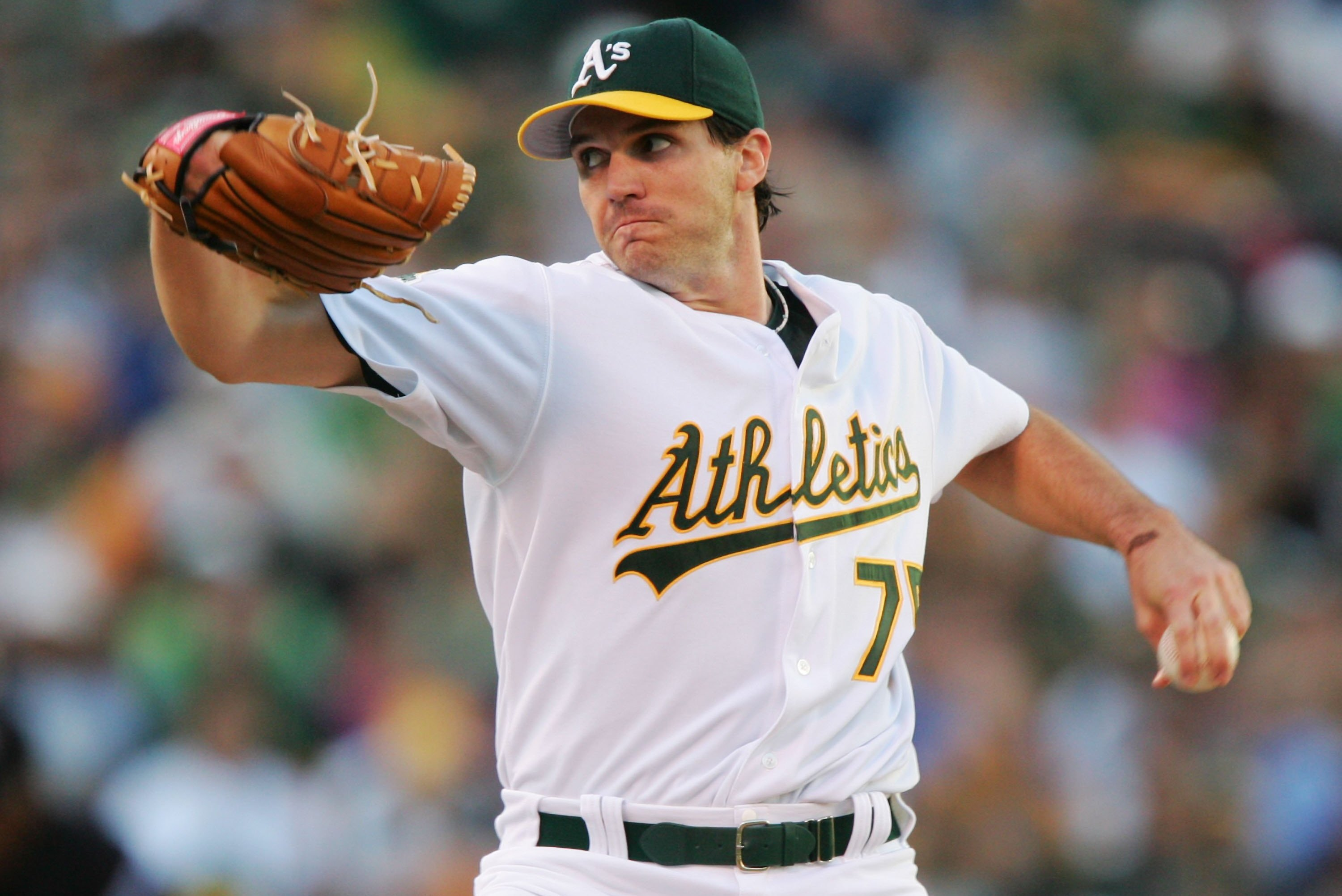 big sale cd89b f387b Oakland Athletics: Why Barry Zito Is the Player to Watch at ...