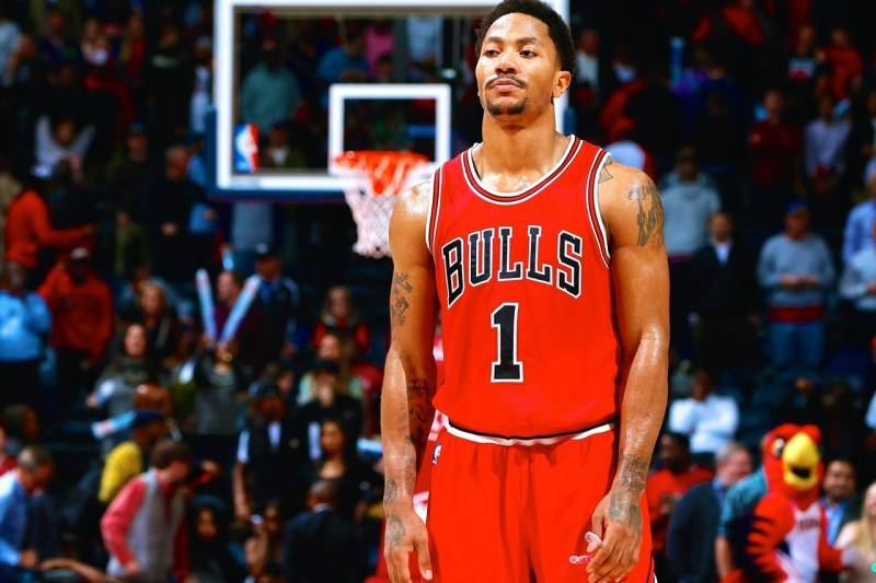41aa1e4201f4 Chris C. Cox Getty Images. Chicago Bulls point guard Derrick Rose ...