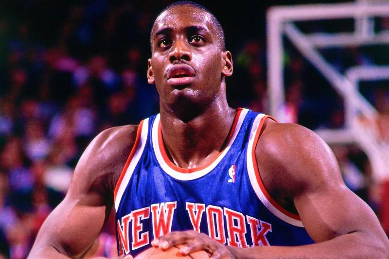 low cost 93783 d79f7 Anthony Mason, Former NBA Fan Favorite, Dies at Age 48 ...