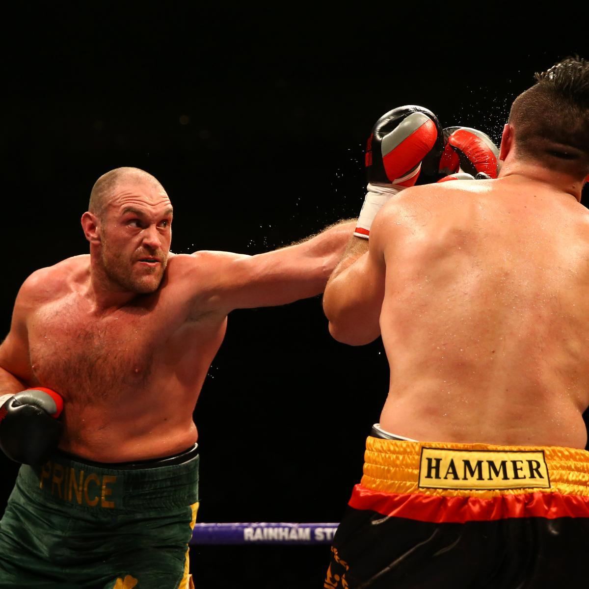 Tyson Fury Vs. Christian Hammer: Winner, Recap And