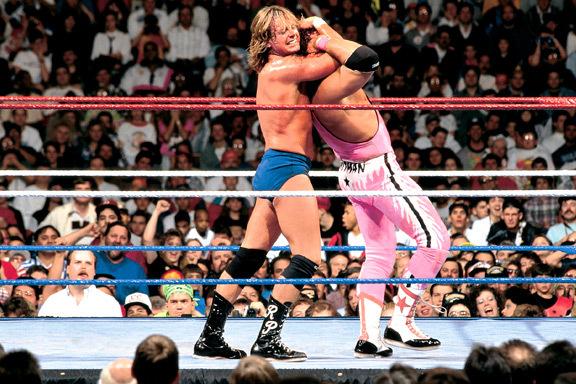 Resultado de imagen para Wrestlemania VIII, 1992 Roddy Piper vs Bret Hart