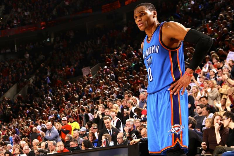 f4d7b0270c82 Russell Westbrook Injury  Updates on Thunder Star s Face and Return ...