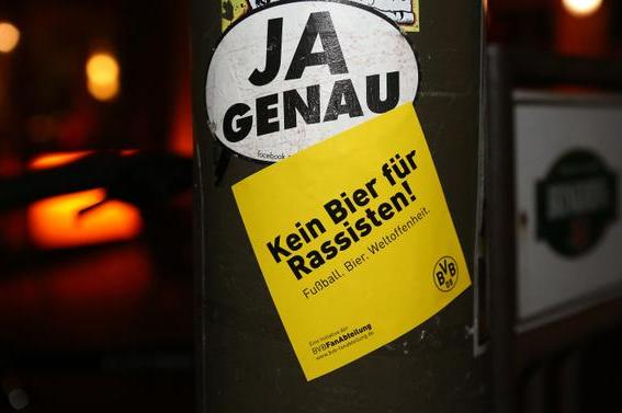 Borussia Dortmund Launch Anti Racism Campaign No Beer For