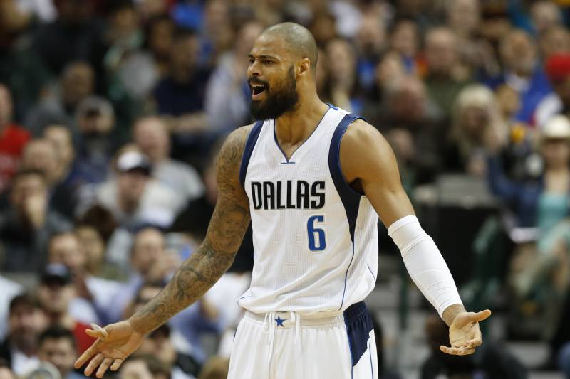 80e9df2c789 Tyson Chandler was just one of the six former New York Knicks that played  in the