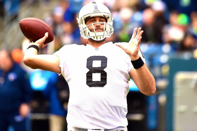 sports shoes 8bf6a 7caa3 Matt Schaub Released by Raiders: Latest Details, Comments ...