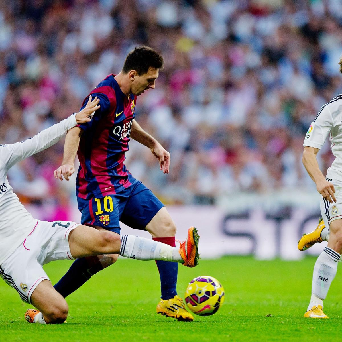 Barcelona Vs Real Madrid Records And Head To Head Ahead Of 2015 Clasico Bleacher Report Latest News Videos And Highlights