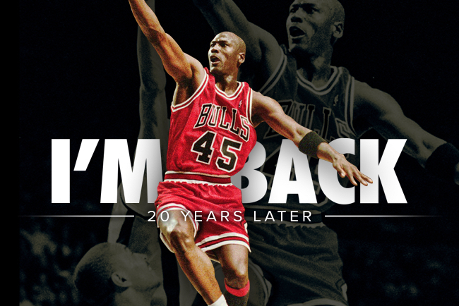 f30121a921e4 I m Back!   Untold Tales of Michael Jordan s 1st Return to the NBA ...