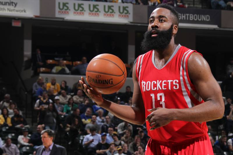 ce425311b848 James Harden Makes 20 Free Throws for 2nd Time This Season ...