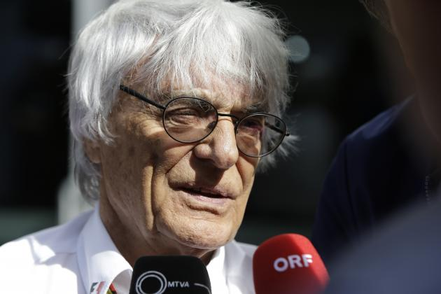 Formula 1 News: Bernie Ecclestone Says Female Championship Is 'Only a Thought' | Bleacher Report