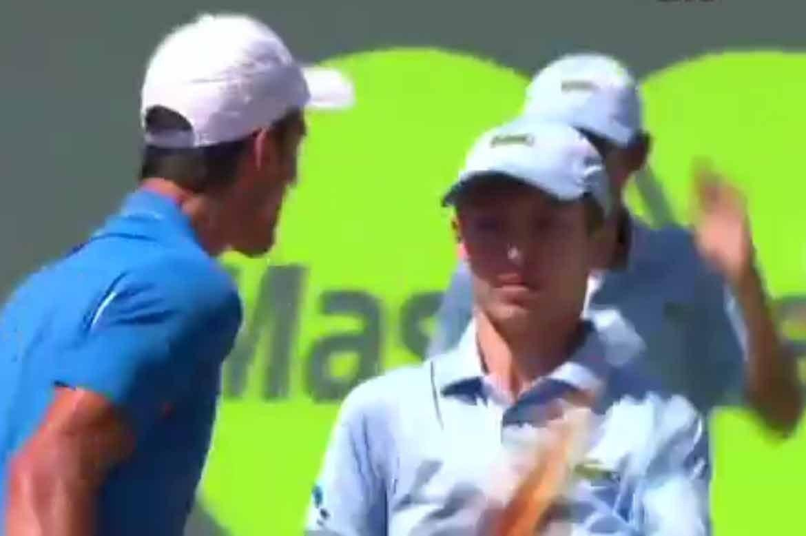 Novak Djokovic Apologises To Ballboy After Shouting In 2015 Miami Open Final Bleacher Report Latest News Videos And Highlights