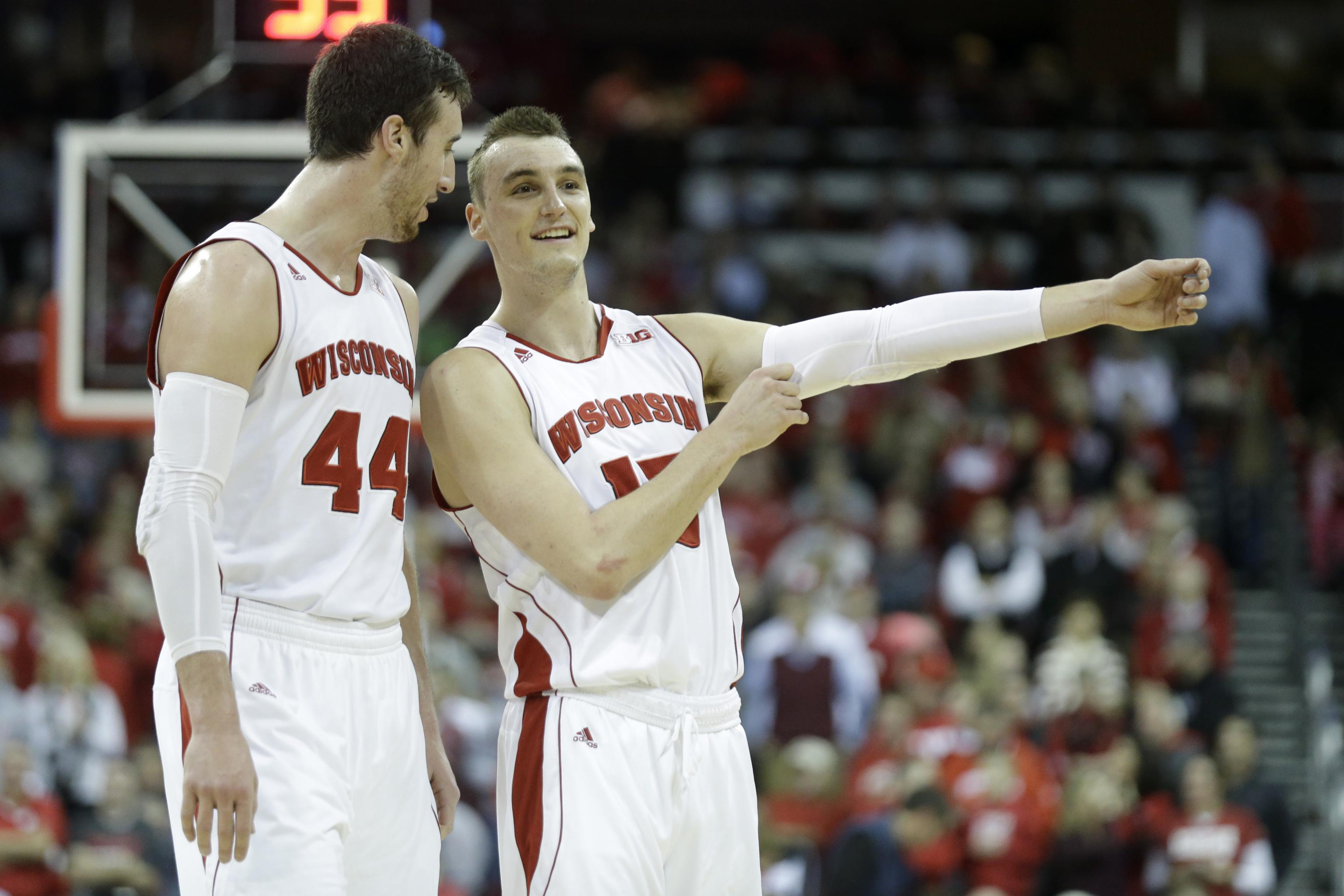 lowest price 55970 ad9b4 NBA Draft Notebook: Projecting Wisconsin's Frank Kaminsky ...
