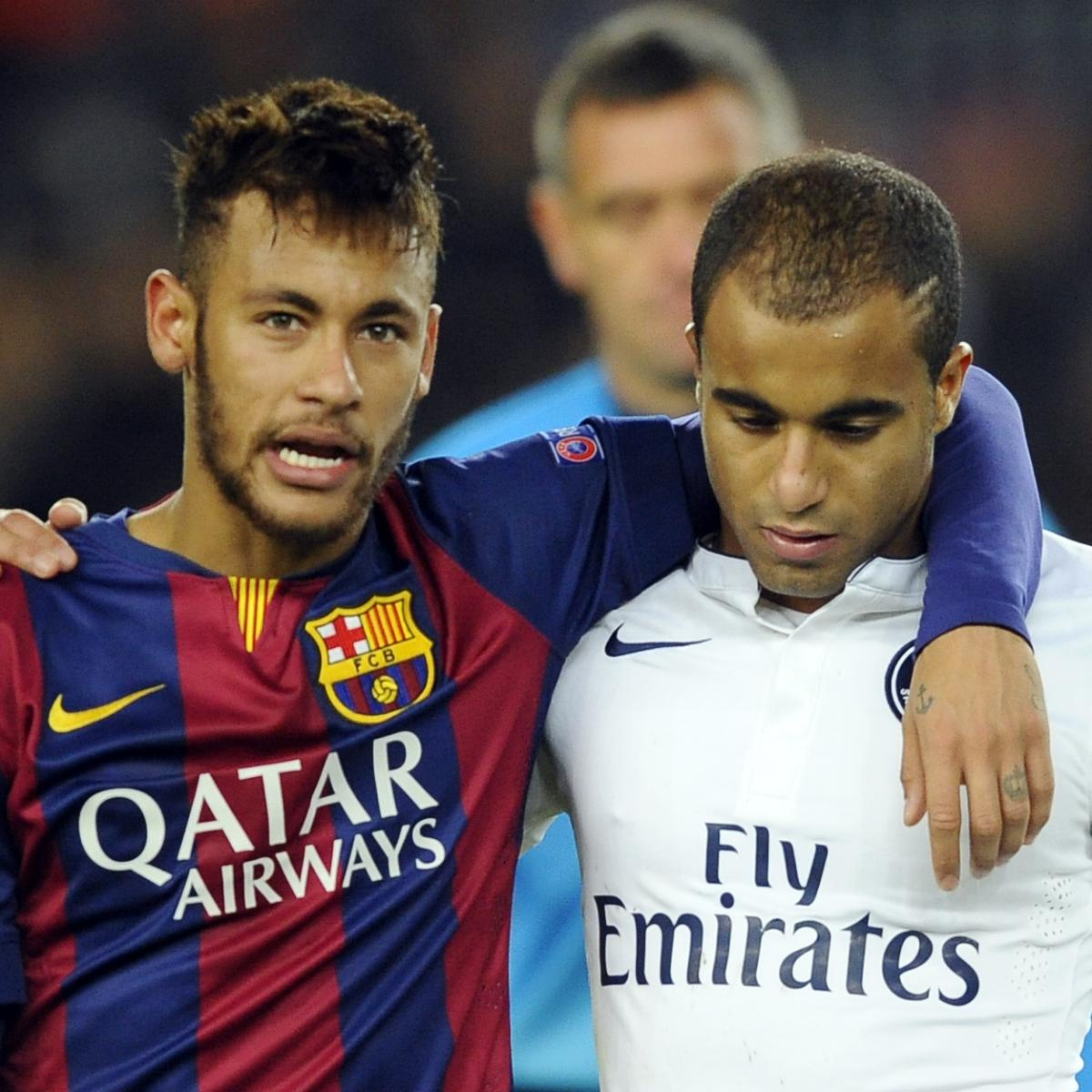 Lucas Moura Neymar: PSG Vs. Barcelona: Team News, Predicted Lineups, Live