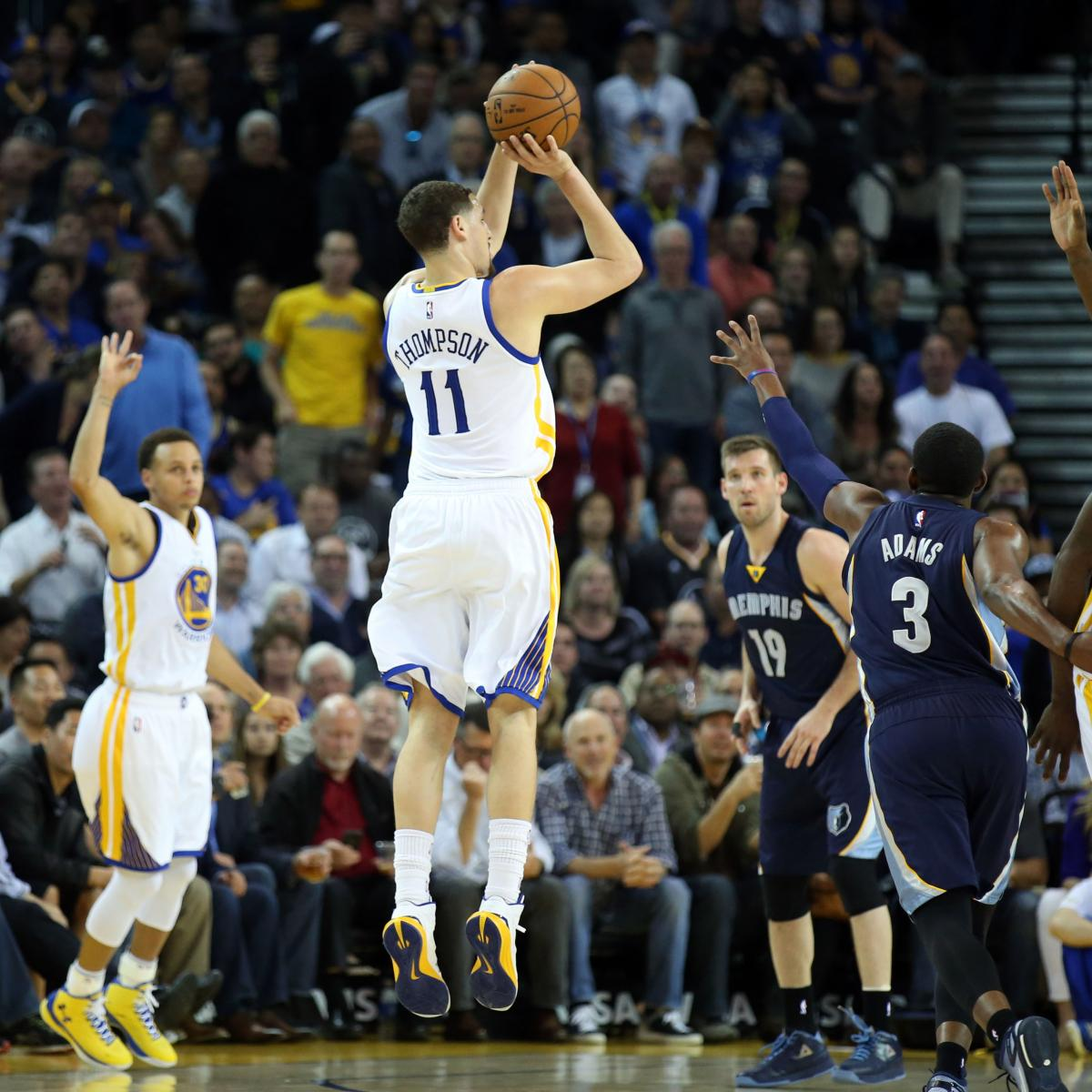 Breaking Down Klay Thompson S Picture Perfect Jump Shot Bleacher Report Latest News Videos And Highlights