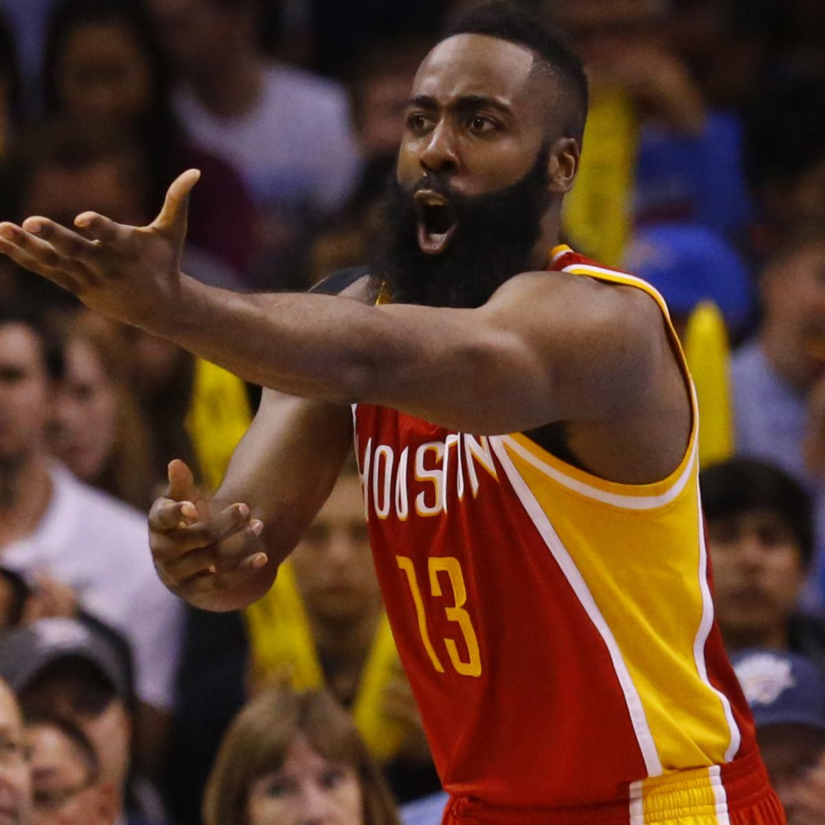 Houston Rockets' Playoff Schedule 2015: TV Info And
