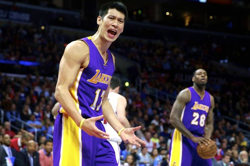 Image result for jeremy lin lakers