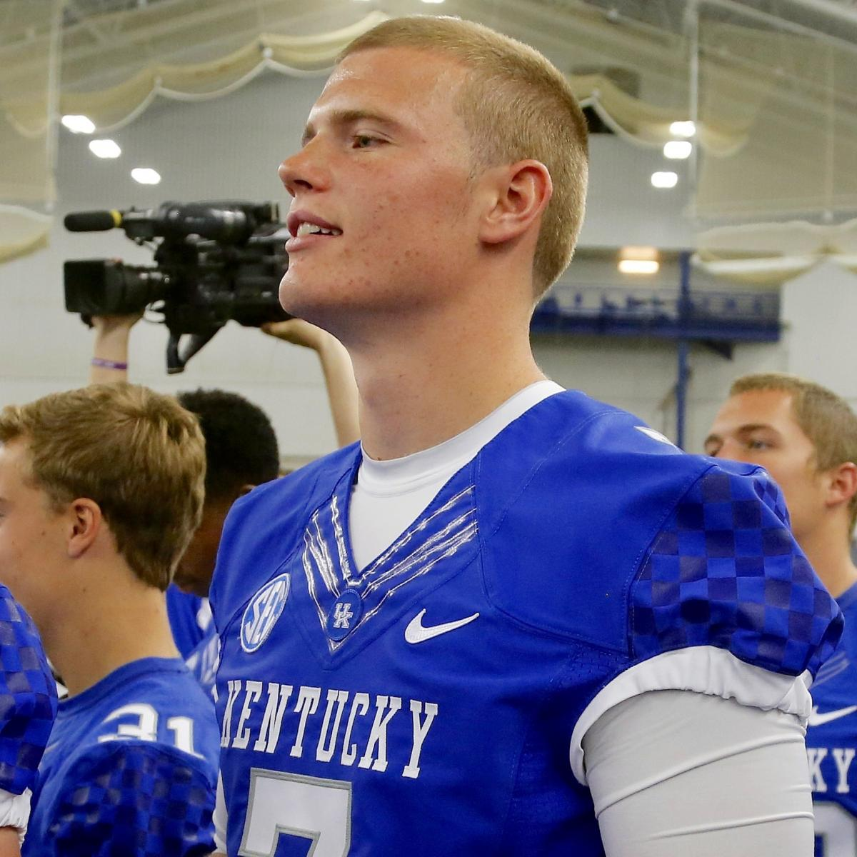 Kentucky QB Drew Barker Attacked on Video by EKU Player ...