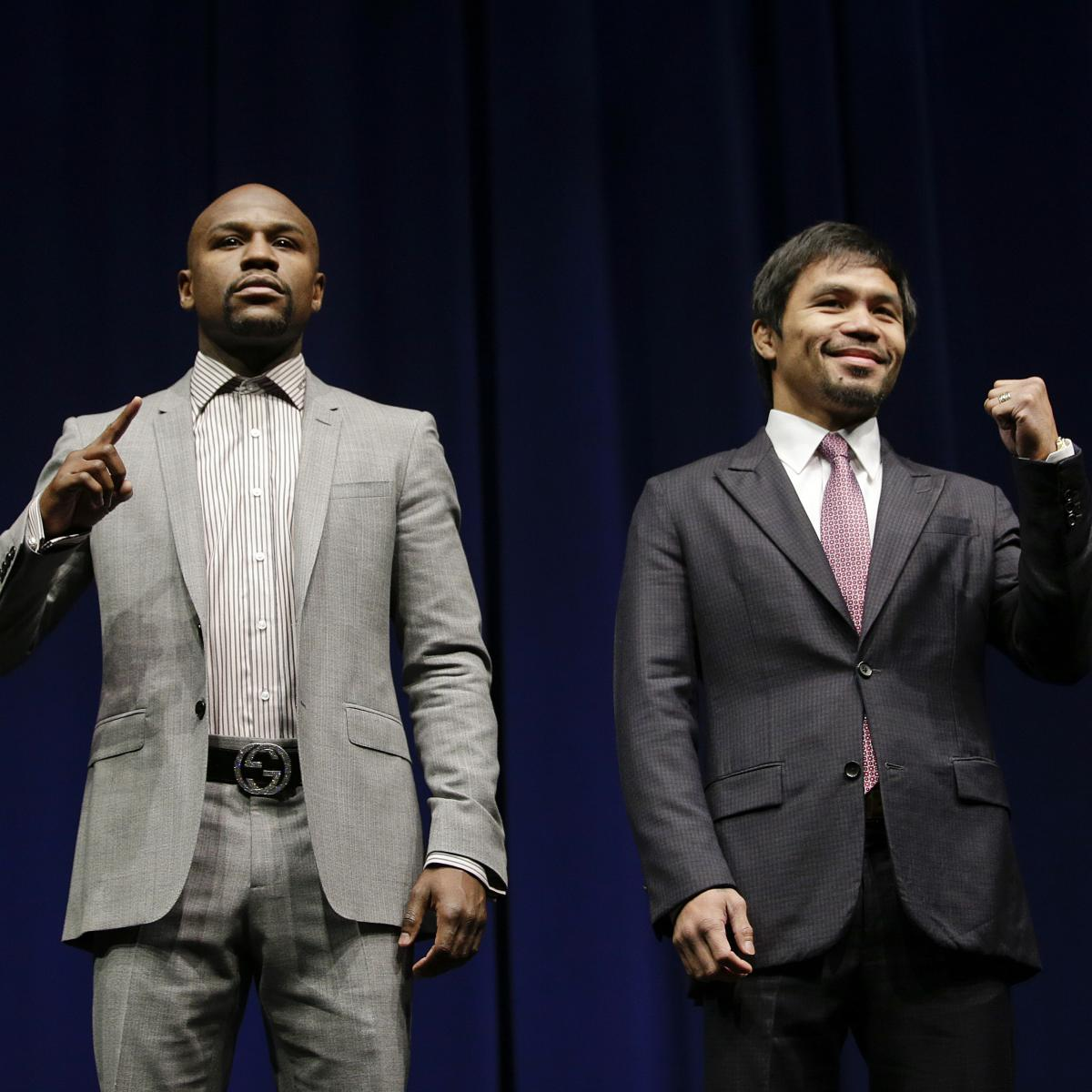 Mayweather vs Pacquiao Weigh-In: Date, Start Time and Live Stream ...