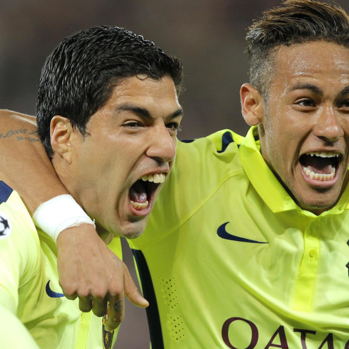 Champions League Xls: Champions League Player Rankings: Suarez, Matuidi And