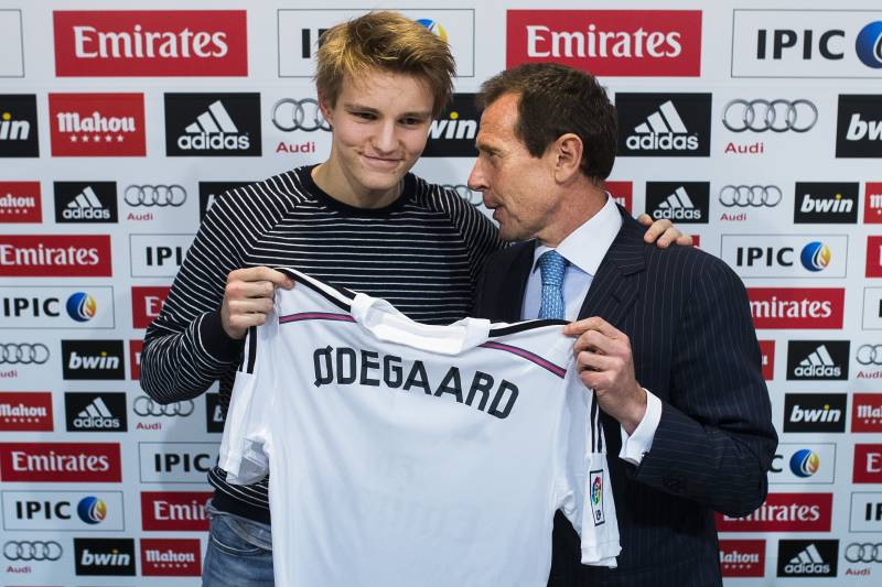 09663ad9379 Real Madrid s Martin Odegaard  Victimised by Media s Confirmation ...