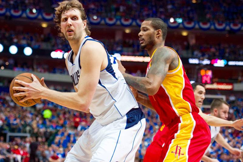 2358dac6 Rockets vs. Mavericks: Game 4 Score and Twitter Reaction from 2015 ...