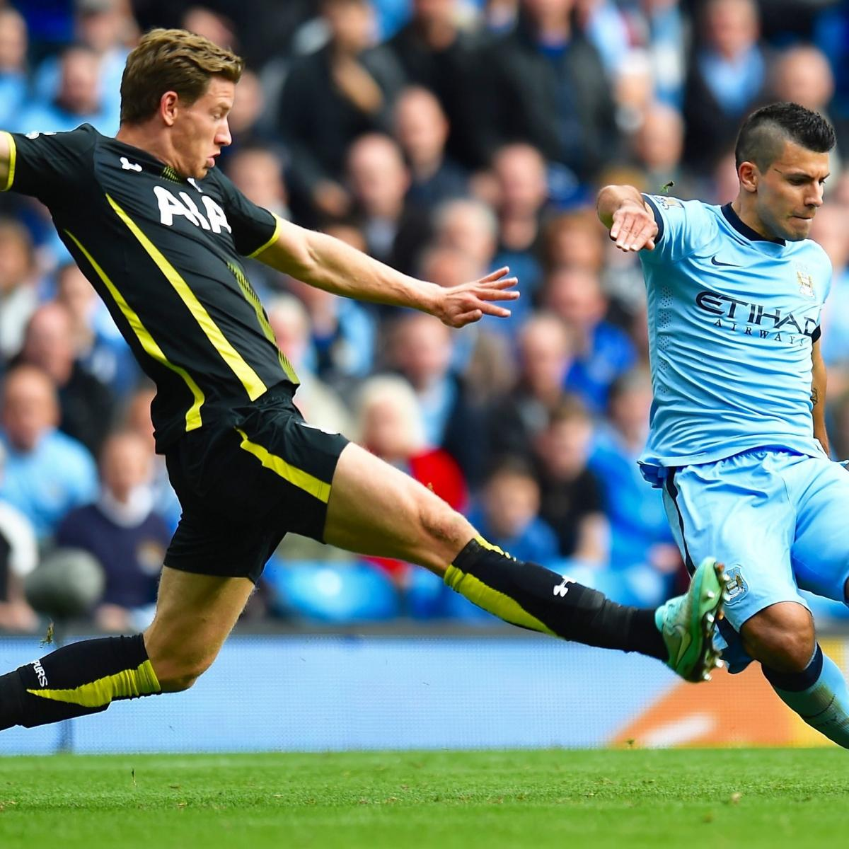 Tottenham Vs. Manchester City: Live Score, Highlights From