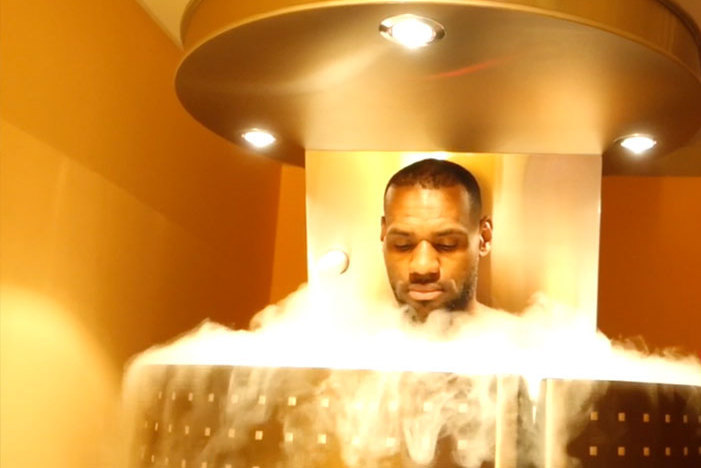 LeBron James tiene cámaras de crioterapia en su casa