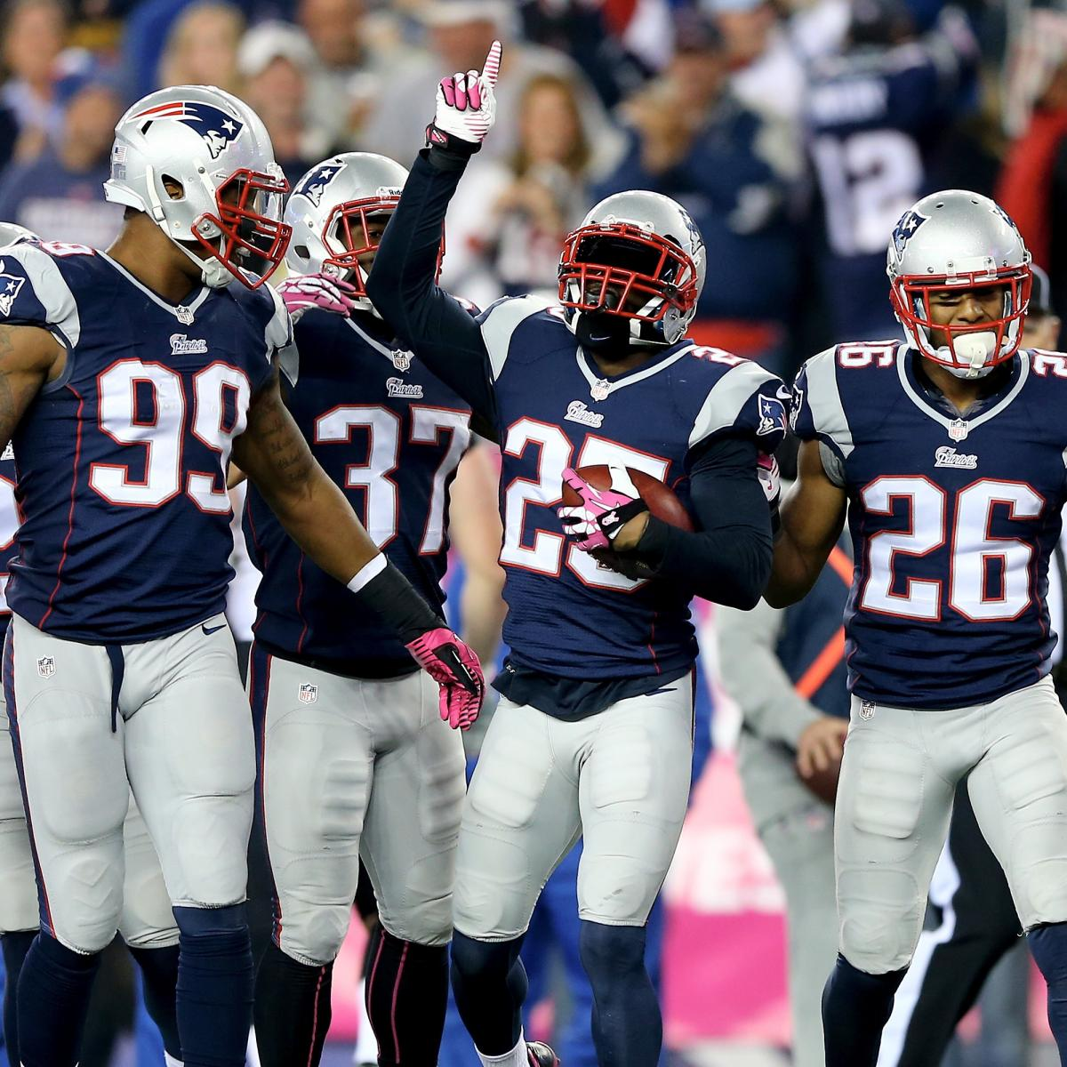 Patriots Show Confidence In Current Depth Chart At