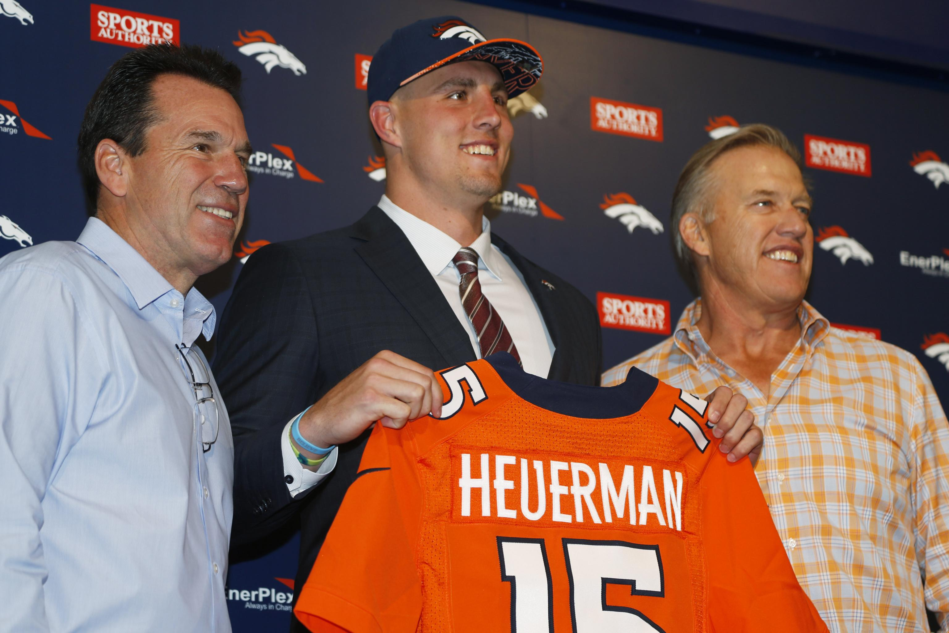 check out 0e756 c1db8 Denver Broncos May Look for TE Help with Rookie Jeff ...