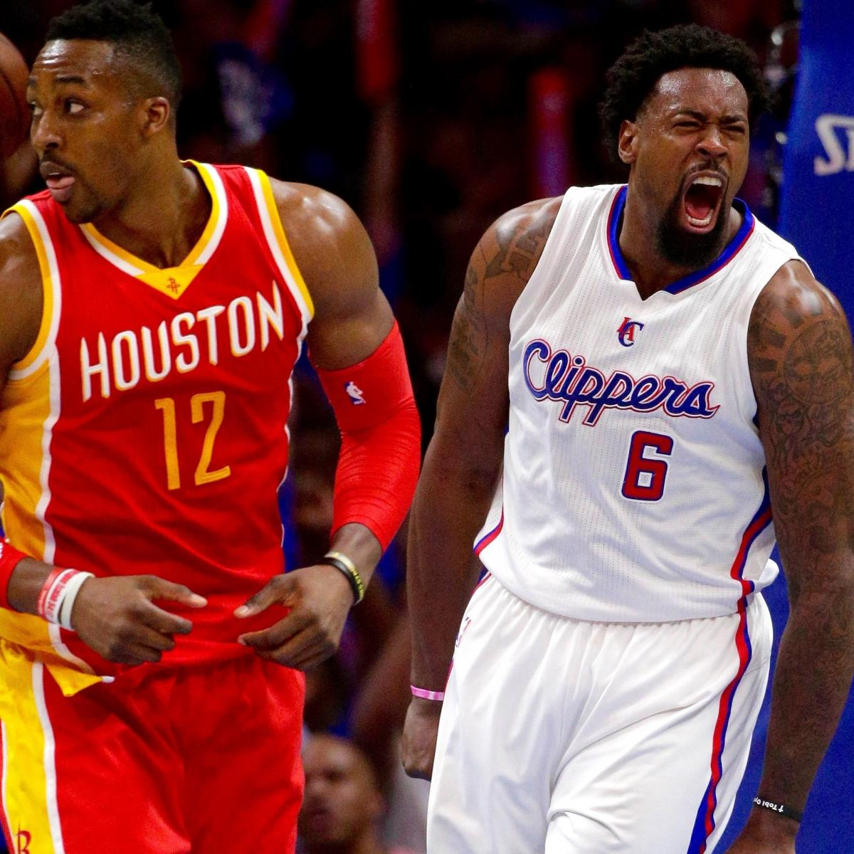 Rockets vs. Clippers: Game 4 Score and Twitter Reaction ...