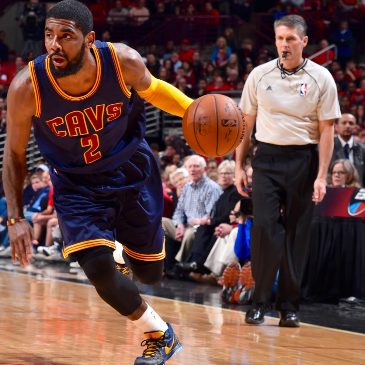 81c04dc1bf3 Kyrie Irving Injury  Updates on Cavaliers Star s Knee and Recovery ...