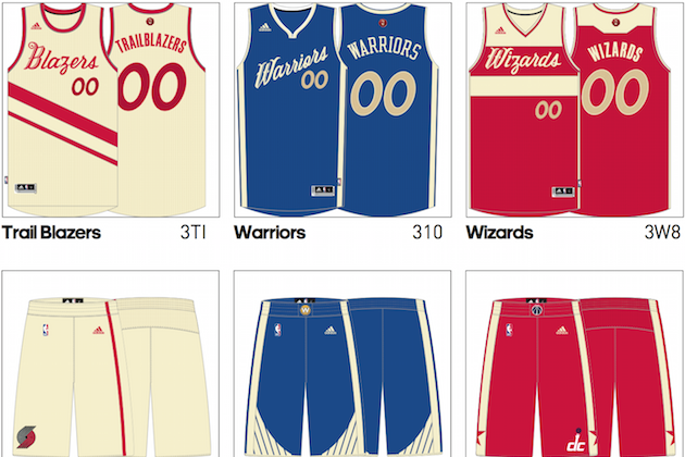 fb5ede57c1ff 1st Look at Leaked Images of 2015 NBA Christmas Day Uniforms ...