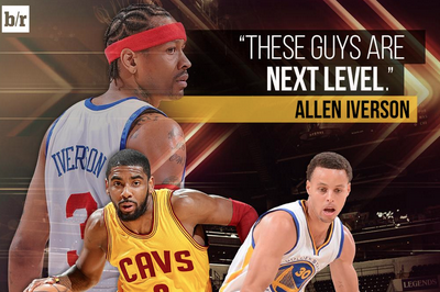 847dd060e62 Allen Iverson Says Stephen Curry and Kyrie Irving Have Better Handles Than  Him