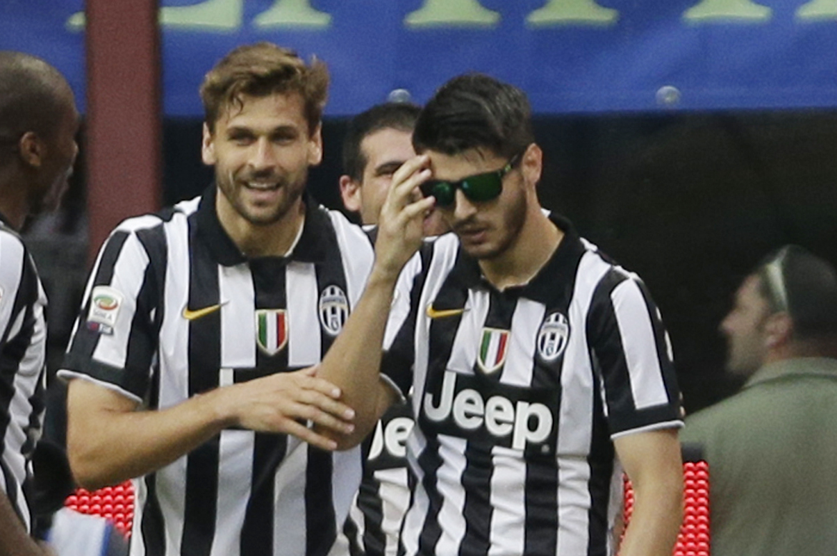 Alvaro Morata Dons Sunglasses For Deal With It Celebration After Juventus Goal Bleacher Report Latest News Videos And Highlights