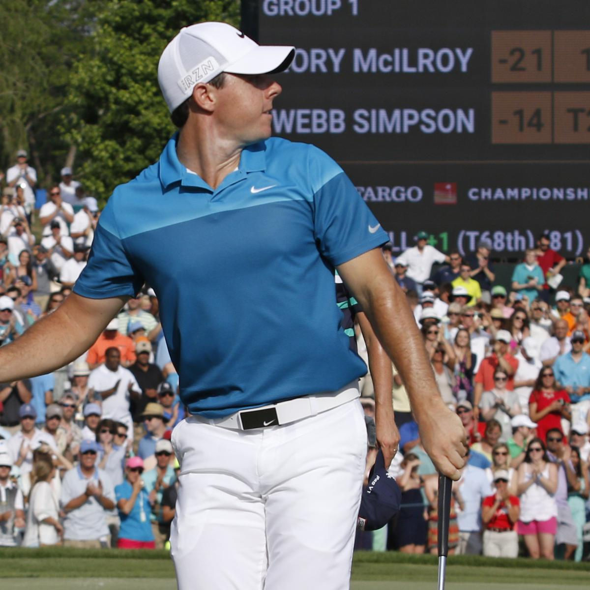 Wells Fargo Championship 2015: Leaderboard Scores And