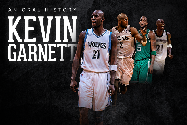 finest selection c7117 d99ef A Man in Full: An Oral History of Kevin Garnett, the Player ...