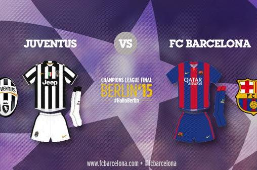 9254560d843 Barcelona and Juventus Will Both Wear Home Kits in Champions League Final