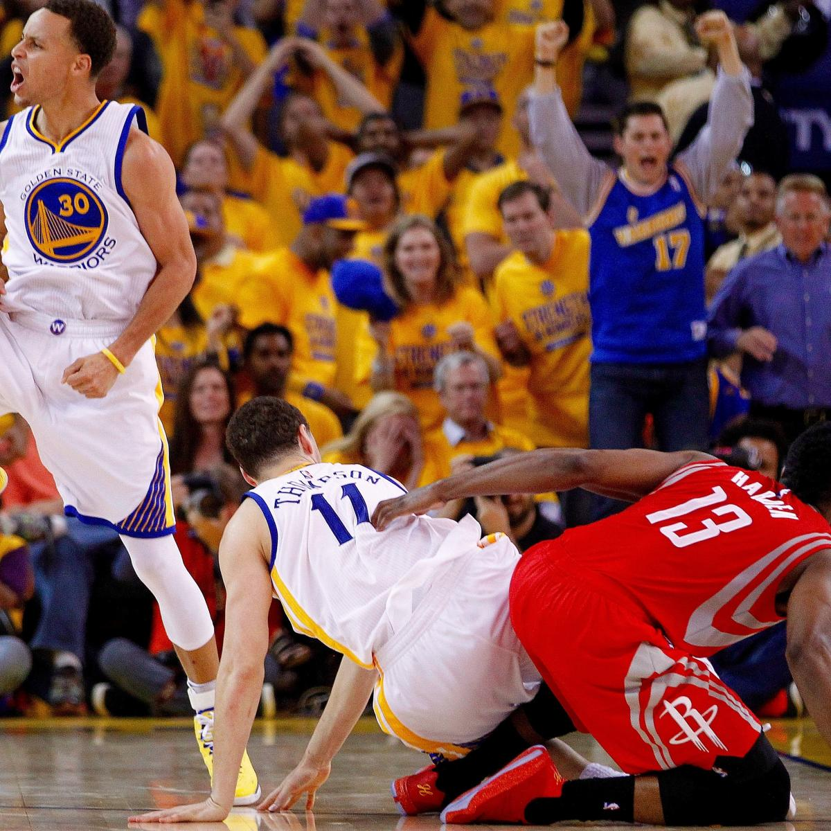 Rockets And The Warriors Game: Rockets Vs. Warriors: Game 2 Score And Twitter Reaction