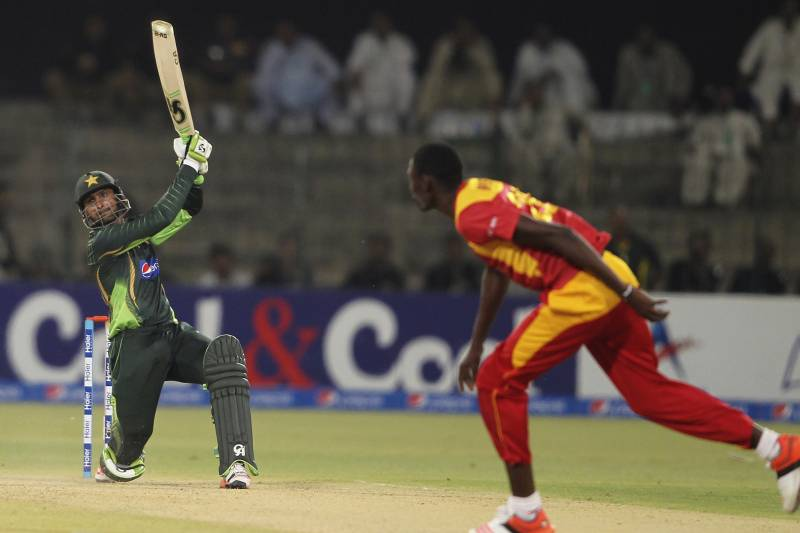 Pakistan vs  Zimbabwe, 1st ODI, 2015: Highlights, Scorecard